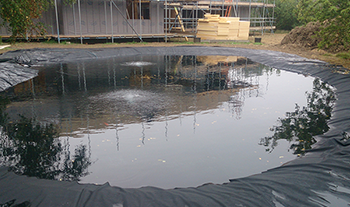 Pond and Koi Specialists in East Sussex pond liner installation